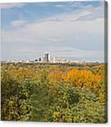 Rochester Skyline Panorama Canvas Print