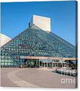 Rock And Roll Hall Of Fame II Canvas Print