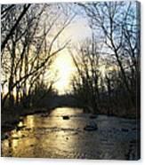Rock Creek Near Gettysburg Canvas Print