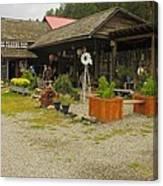 Rock Creek Trading Post Canvas Print