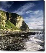 Rock Formations At The Coast Canvas Print