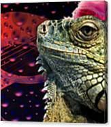 Rock Lizard Canvas Print
