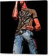 Rock Singer Canvas Print
