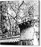 Rockefeller Garden Fence Canvas Print