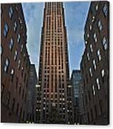 Rockefeller Tree Canvas Print