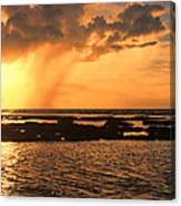 Rockpool Sunset Canvas Print