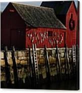 Rockport - G Canvas Print
