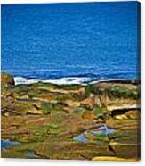 Rockport Shoreline Canvas Print