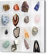 Rocks And Minerals Canvas Print