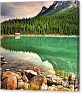 Rocks And Reflections Canvas Print