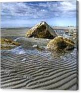 Rocks And Sand Canvas Print