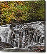 Rocky Cascade Canvas Print