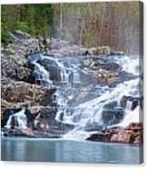 Rocky Falls Canvas Print