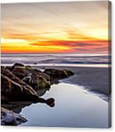 Rocky Shoreline Canvas Print