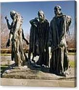 Rodin: Burghers Of Calais Canvas Print