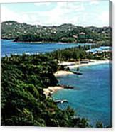 Rodney Bay St. Lucia Canvas Print