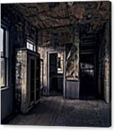 Roe - Graves House Kitchen Of Bannack Ghost Town - Montana Canvas Print