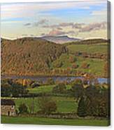 Roe House Overlooks Ullswater Near Pooley Bridge In The Lake District Canvas Print