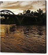 Rogue River Sunset Canvas Print
