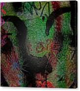 Roll On Roxy Canvas Print