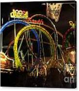 Rollercoaster At The Dom Canvas Print