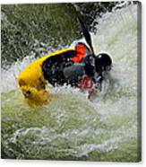 Rolling Down The River  Canvas Print