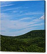 Rolling Green Canvas Print