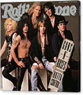 Rolling Stone Cover - Volume #612 - 9/5/1991 - Guns 'n Roses Canvas Print