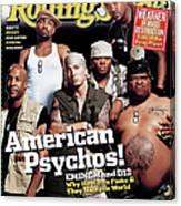 Rolling Stone Cover - Volume #950 - 6/10/2004 - Eminem Canvas Print