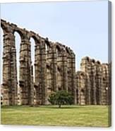 Roman Aquaduct Canvas Print