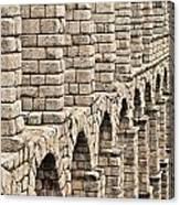 Roman Aqueduct Segovia Canvas Print