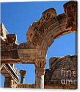 Roman Arch Ephesus Turkey Canvas Print