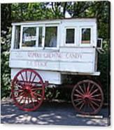Roman Candy Wagon Canvas Print