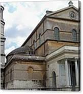 Roman Church Canvas Print
