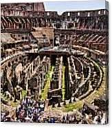 Roman Coleseum Interior Canvas Print