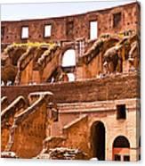 Roman Coliseum Interior Canvas Print