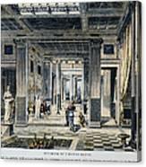 Roman House Interior Canvas Print