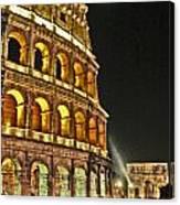 Roman Moon Canvas Print