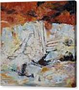 Roman Relicts Abstract 5 Canvas Print