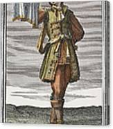 Roman Trumpet, 1723 Canvas Print