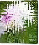 Romance In Paris - Abstract Art Canvas Print