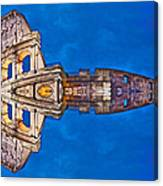 Romano Spaceship - Archifou 73 Canvas Print