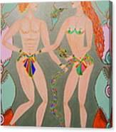 Roman's Lovers Canvas Print