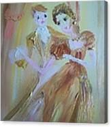Romantic Encounter Canvas Print