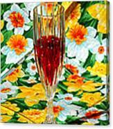 Romantic Ruby Canvas Print