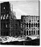 Rome: Colosseum, C1864 Canvas Print