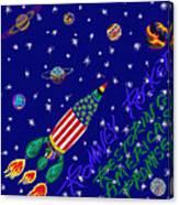 Romney Rocket - Restoring America's Promise Canvas Print