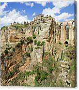 Ronda Rocks In Andalusia Canvas Print