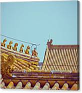 Roof Detail Canvas Print