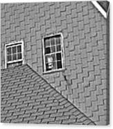 Roof Lines Canvas Print